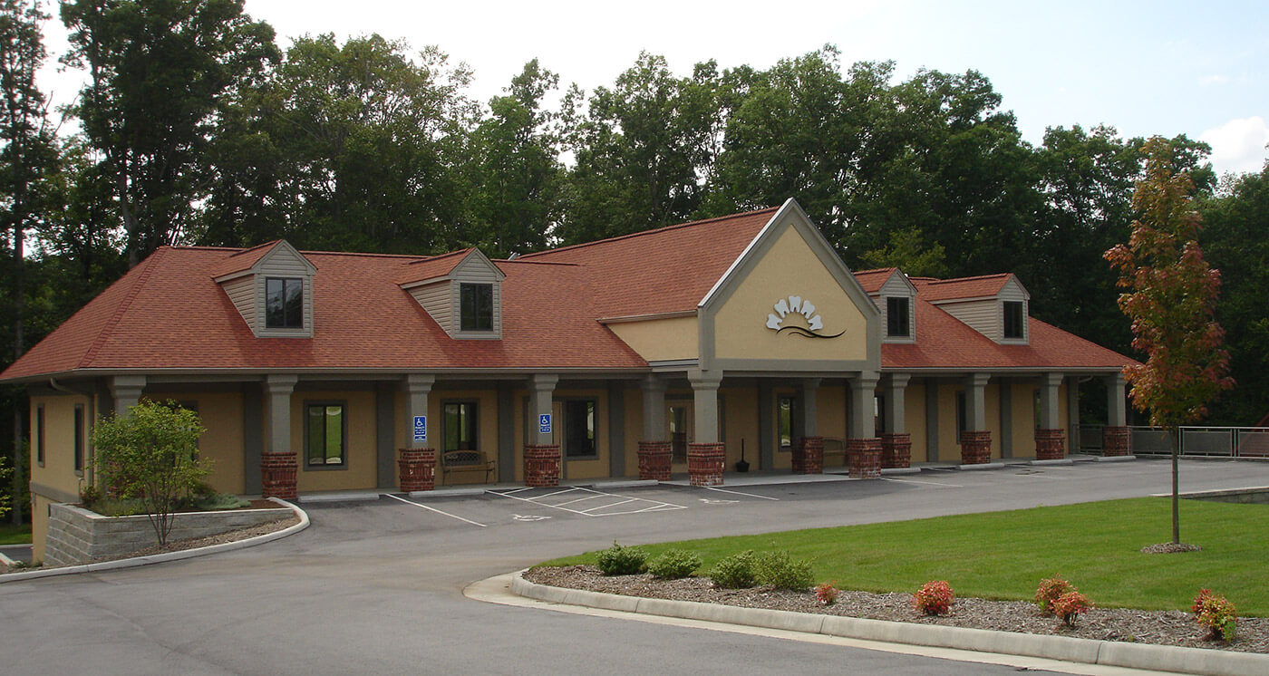 Exterior view of Riverside Upper dental practice in Danville