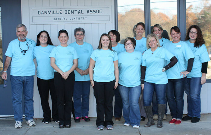 Give Thanks For Smiles team photo of volunteers