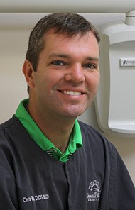 Headshot of Danville dentist Dr. Christopher A. Payne