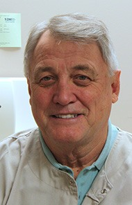 Headshot of Danville dentist Dr. James R. Evans